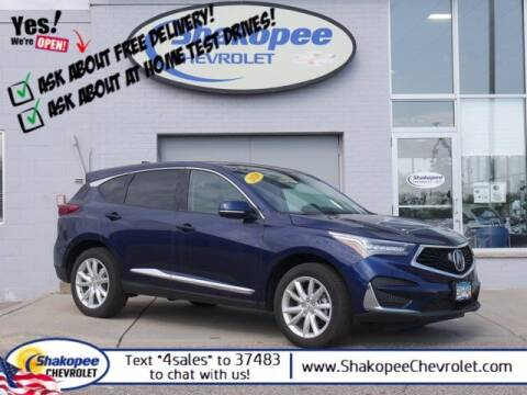2020 Acura RDX for sale at SHAKOPEE CHEVROLET in Shakopee MN