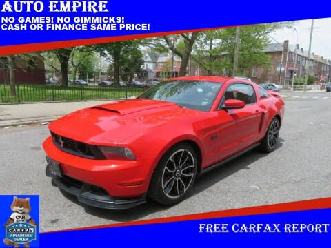 2011 Ford Mustang for sale at Auto Empire in Brooklyn NY