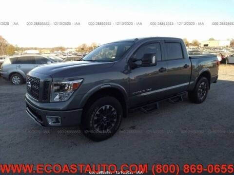 2019 Nissan Titan for sale at East Coast Auto Source Inc. in Bedford VA