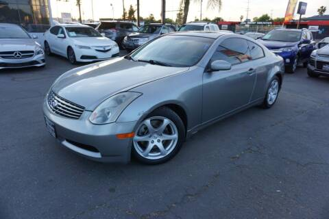 2005 Infiniti G35 for sale at Industry Motors in Sacramento CA