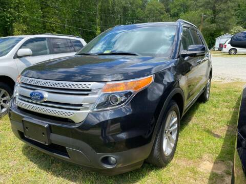 2011 Ford Explorer for sale at Premier Auto Solutions & Sales in Quinton VA