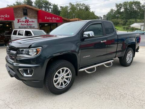 2017 Chevrolet Colorado for sale at Twin Rocks Auto Sales LLC in Uniontown PA
