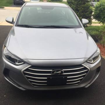2017 Hyundai Elantra for sale at Excel Auto Sales and Rental in Cheltenham PA
