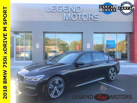 2018 BMW 7 Series for sale at Legend Motors of Waterford in Waterford MI