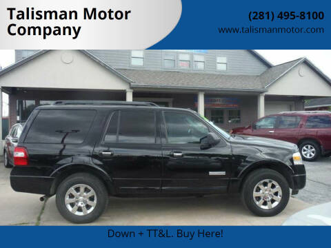 2008 Ford Expedition for sale at Don Jacobson Automobiles in Houston TX