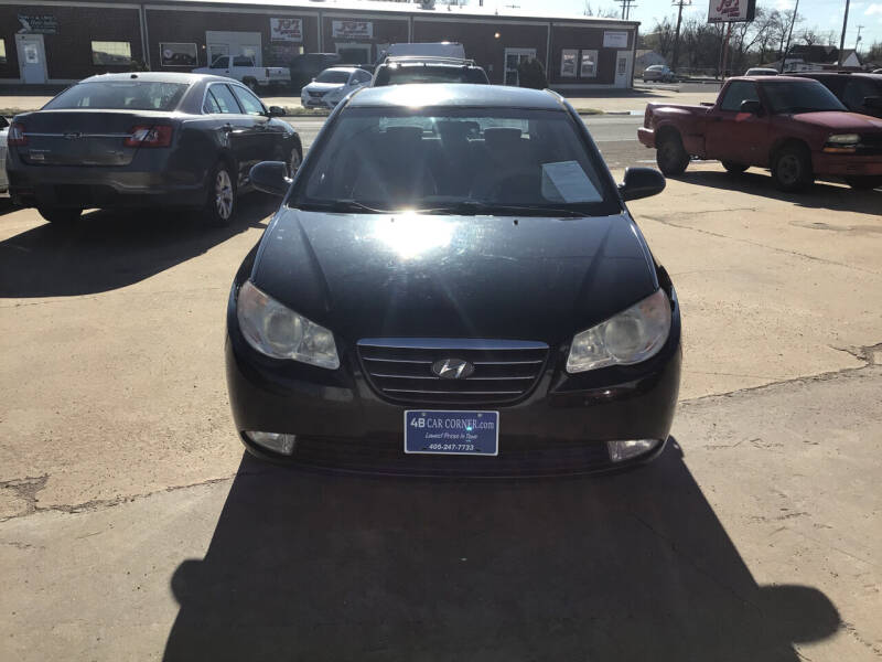 2008 Hyundai Elantra for sale at 4 B CAR CORNER in Anadarko OK