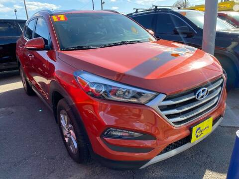 2017 Hyundai Tucson for sale at New Wave Auto Brokers & Sales in Denver CO