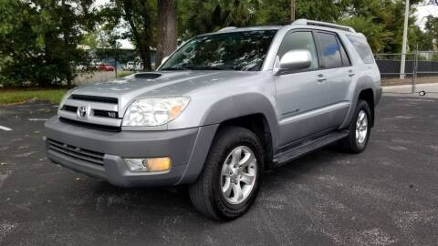 2003 Toyota 4Runner for sale at Precision Auto Source in Jacksonville FL
