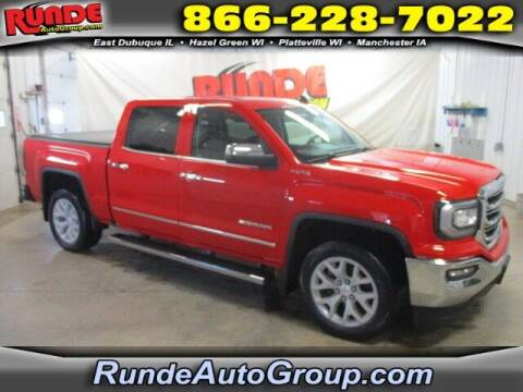 2018 GMC Sierra 1500 for sale at Runde Chevrolet in East Dubuque IL