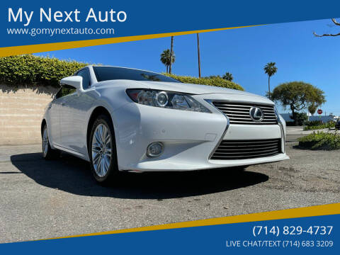 2015 Lexus ES 350 for sale at My Next Auto in Anaheim CA