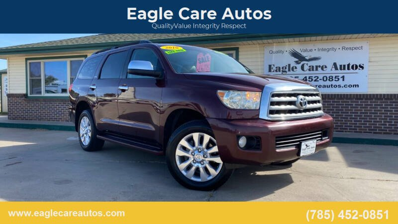 2010 Toyota Sequoia for sale at Eagle Care Autos in Mcpherson KS
