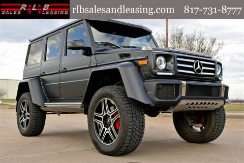 2018 Mercedes-Benz G-Class for sale at RLB Sales and Leasing in Fort Worth TX