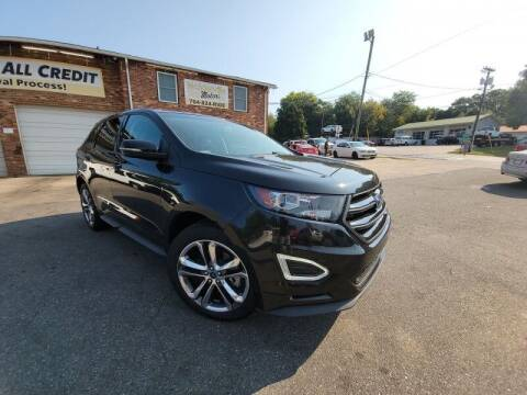 2015 Ford Edge for sale at McAdenville Motors in Gastonia NC