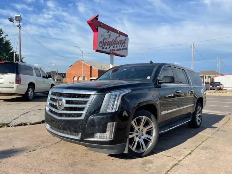 2015 Cadillac Escalade ESV for sale at Southwest Car Sales in Oklahoma City OK