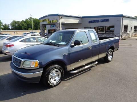 2002 Ford F-150 for sale at KARS R US of Spartanburg LLC in Spartanburg SC