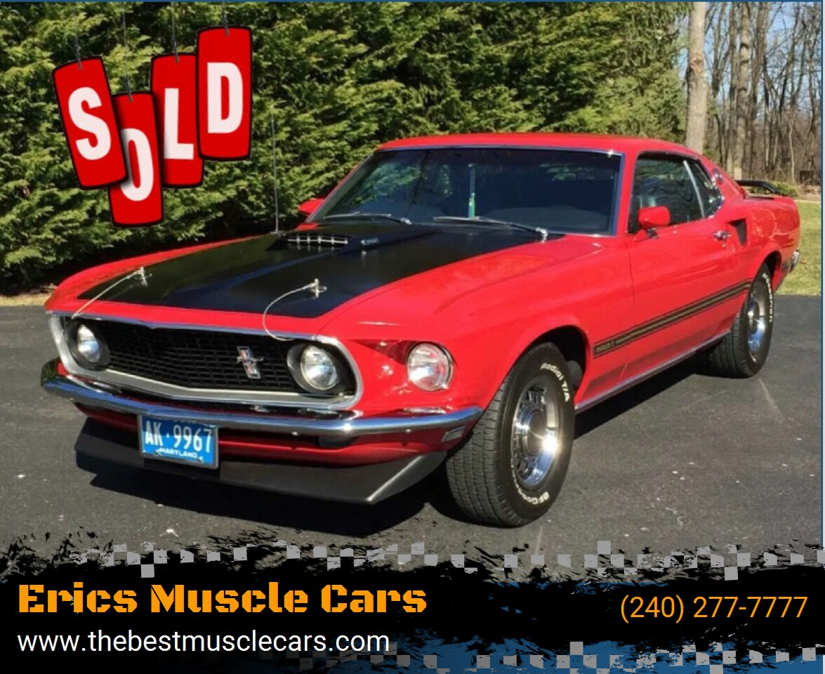 1969 Ford Mustang Mach 1 SOLD SOLD SOLD
