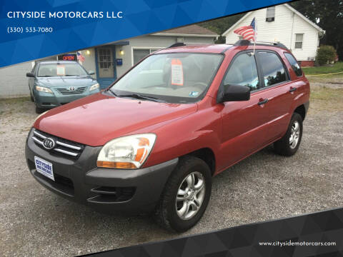 2008 Kia Sportage for sale at CITYSIDE MOTORCARS LLC in Canfield OH