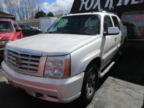 2004 Cadillac Escalade EXT for sale at Fox River Motors, Inc in Green Bay WI