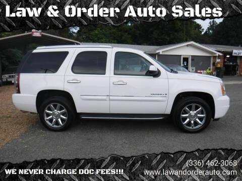2007 GMC Yukon for sale at Law & Order Auto Sales in Pilot Mountain NC