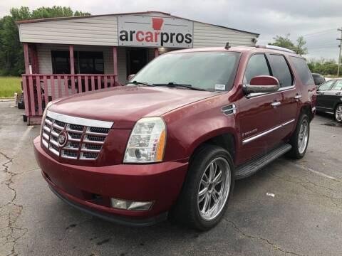 2009 Cadillac Escalade for sale at Arkansas Car Pros in Cabot AR