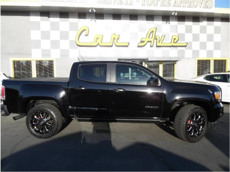 2015 GMC Canyon for sale at Car Ave in Fresno CA