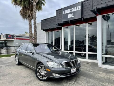 2007 Mercedes-Benz S-Class for sale at Prime Sales in Huntington Beach CA