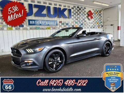 2015 Ford Mustang for sale at BROOKS BIDDLE AUTOMOTIVE in Bothell WA