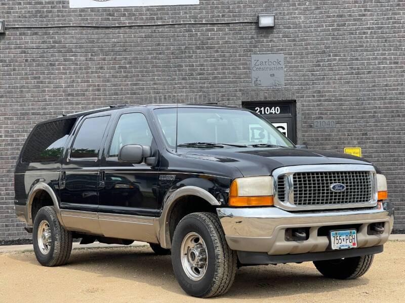 2000 Ford Excursion for sale at Big Man Motors in Farmington MN