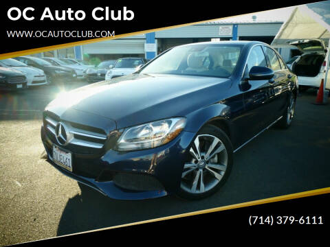 2016 Mercedes-Benz C-Class for sale at OC Auto Club in Midway City CA