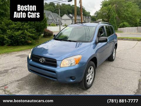 2007 Toyota RAV4 for sale at Boston Auto Cars in Dedham MA