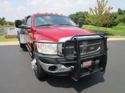 2008 Dodge Ram Pickup 3500 for sale at Oklahoma Trucks Direct in Norman OK