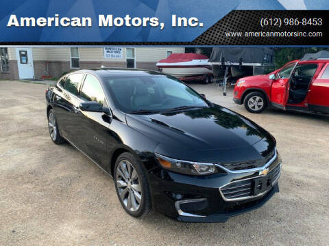 2016 Chevrolet Malibu for sale at American Motors, Inc. in Farmington MN