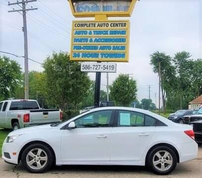 2012 Chevrolet Cruze for sale at JEREMYS AUTOMOTIVE in Casco MI