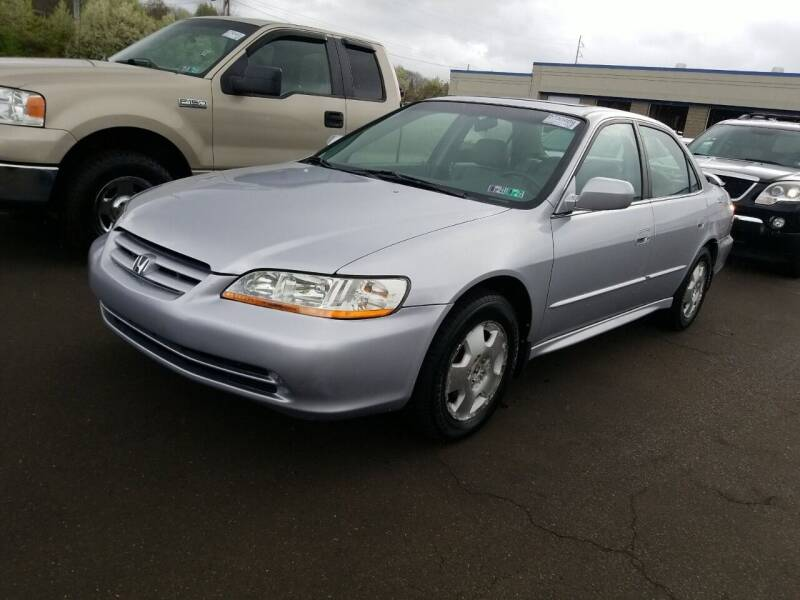 2002 Honda Accord for sale at Angelo's Auto Sales in Lowellville OH