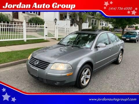 2004 Volkswagen Passat for sale at Jordan Auto Group in Paterson NJ