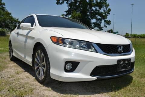 2013 Honda Accord for sale at WOODLAKE MOTORS in Conroe TX