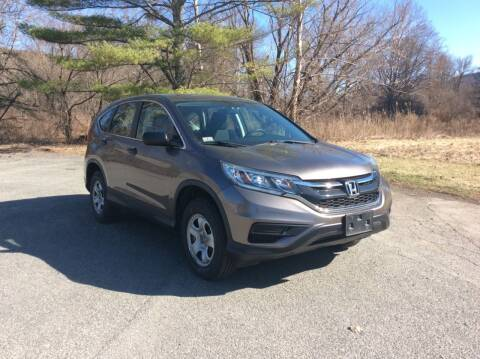 2015 Honda CR-V for sale at Route 102 Auto Sales  and Service in Lee MA