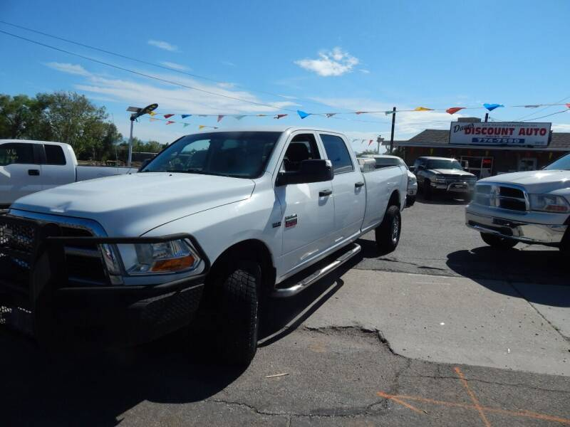 2012 RAM Ram Pickup 2500 for sale at Dave's discount auto sales Inc in Clearfield UT