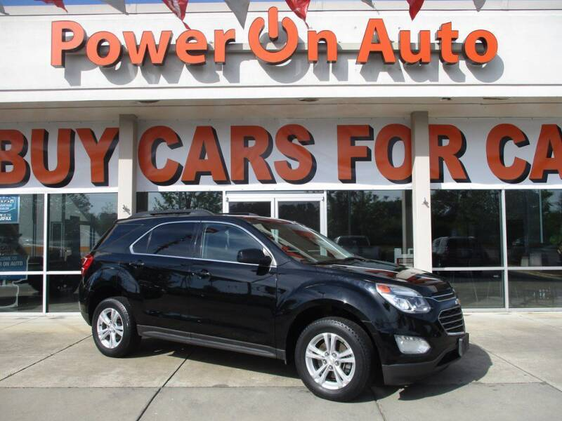 2016 Chevrolet Equinox for sale at Power On Auto LLC in Monroe NC