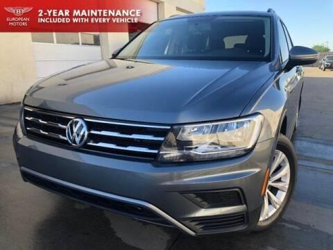 2018 Volkswagen Tiguan for sale at European Motors Inc in Plano TX