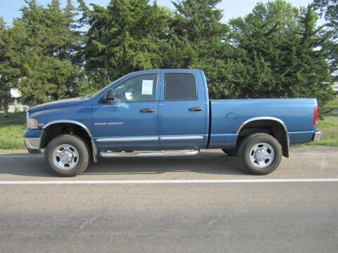 2003 Dodge Ram Pickup 2500 for sale at Joe's Motor Company in Hazard NE