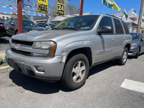 2004 Chevrolet TrailBlazer for sale at Cypress Motors of Ridgewood in Ridgewood NY