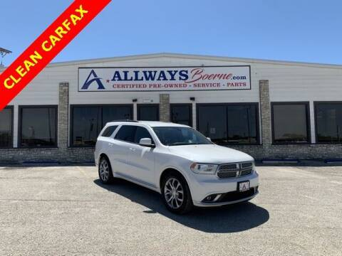 2017 Dodge Durango for sale at ATASCOSA CHRYSLER DODGE JEEP RAM in Pleasanton TX