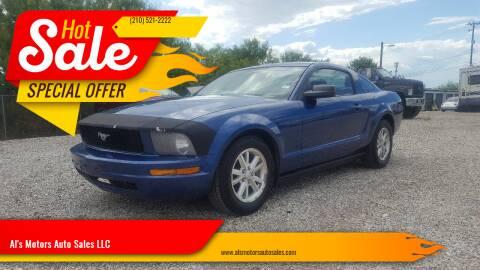2007 Ford Mustang for sale at Al's Motors Auto Sales LLC in San Antonio TX