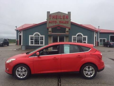 2012 Ford Focus for sale at THEILEN AUTO SALES in Clear Lake IA