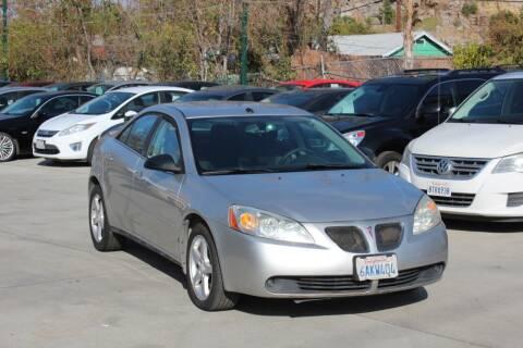 2008 Pontiac G6 for sale at Car 1234 inc in El Cajon CA