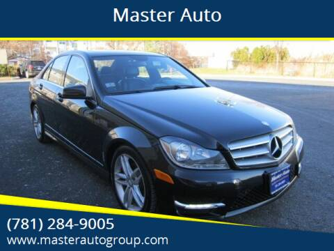 2012 Mercedes-Benz C-Class for sale at Master Auto in Revere MA
