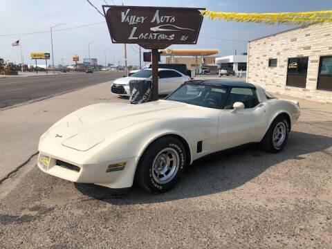 1980 Chevrolet Corvette for sale at Valley Auto Locators in Gering NE