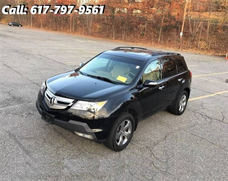 2008 Acura MDX for sale at Wheeler Dealer Inc. in Acton MA