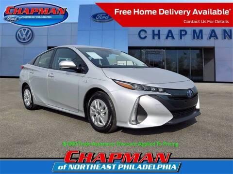 2017 Toyota Prius Prime for sale at CHAPMAN FORD NORTHEAST PHILADELPHIA in Philadelphia PA